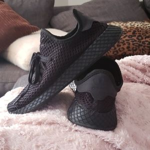 Black adidas male